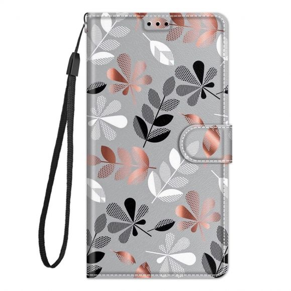 Housse Xiaomi Redmi Note 10 / Note 10s Illustration feuilles sauvages
