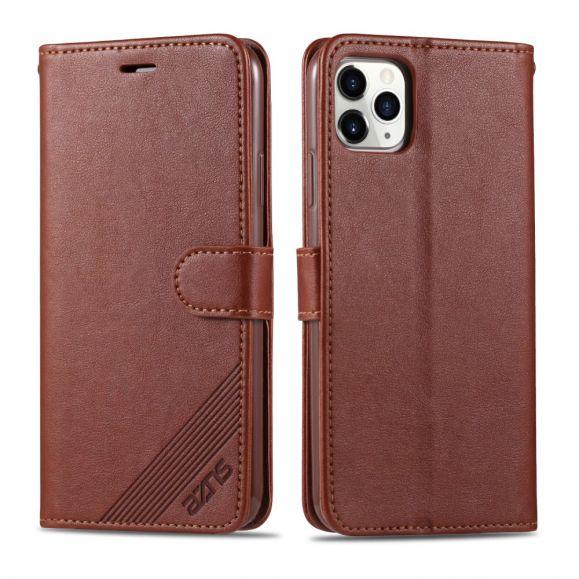 Housse iPhone 13 Pro AZNS simili cuir