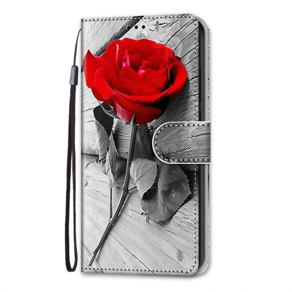 Housse iPhone 13 Pro Rose rouge