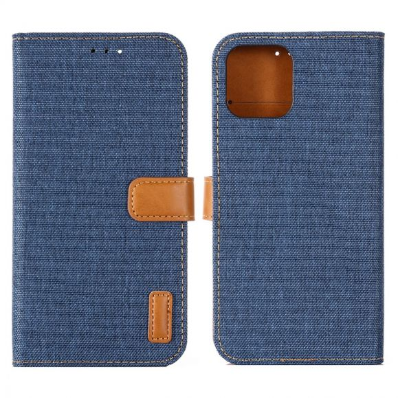 Housse iPhone 13 Pro Oxford effet toile