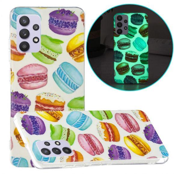 Coque Samsung Galaxy A32 5G Fluorescente Macarons