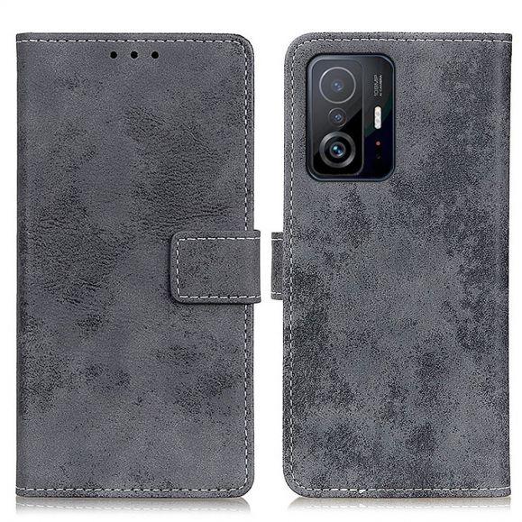 Housse Xiaomi 11T / 11T Pro Cyrius simili cuir vintage