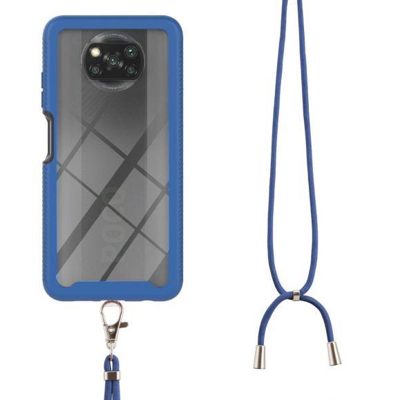 Coque Xiaomi Poco X3, X3 NFC, X3 Pro Urban Series à cordon