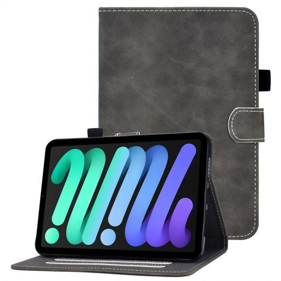 Housse iPad mini 6 (2021) Series KADO coutures apparentes