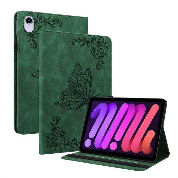 Housse iPad mini 6 (2021) Papillon Rétro