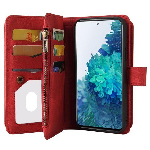 Housse portefeuille Samsung Galaxy S20 FE à lanière