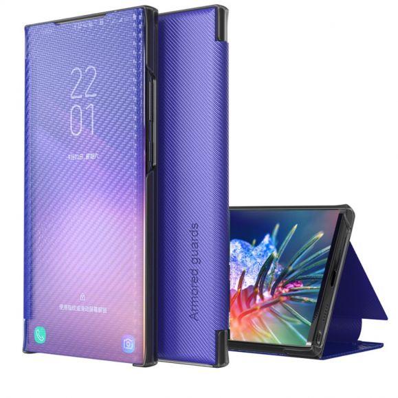 Flip cover Samsung Galaxy S20 FE Fibre de carbone