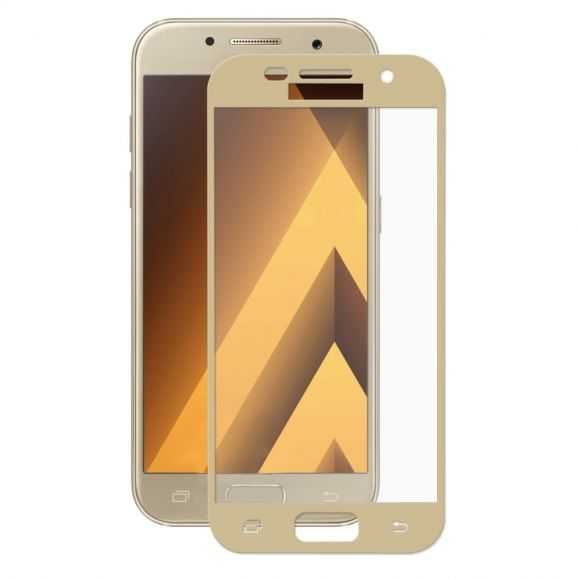 Protection d'écran Verre Trempé Samsung Galaxy A5 2017 - Or