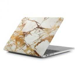 Coque MacBook Pro 13 / Touch Bar Marbre - Or