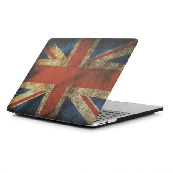 Coque MacBook Pro 13 / Touch Bar Drapeau Anglais