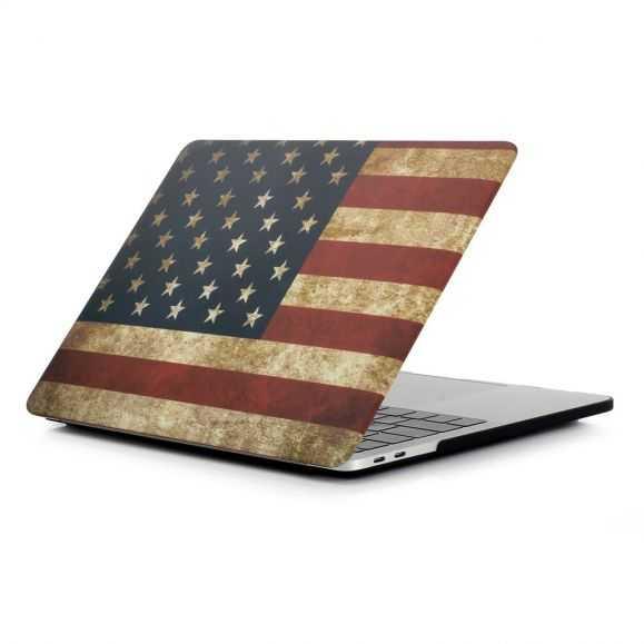 Coque MacBook Pro 13 / Touch Bar Drapeau Américain
