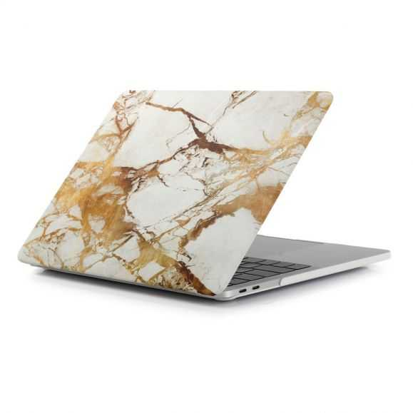 Coque MacBook Pro 15 / Touch Bar Marbre - Or