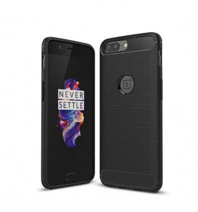 Coque OnePlus 5 Carbone Brossée