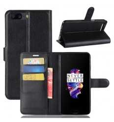 Housse OnePlus 5 Style Cuir