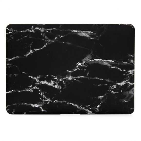 Coque MacBook Pro 13 pouces Marbre - Noir