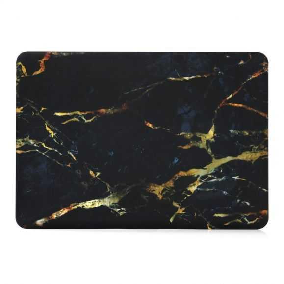 Coque MacBook Pro 13 pouces Marbre - Noir / Blanc
