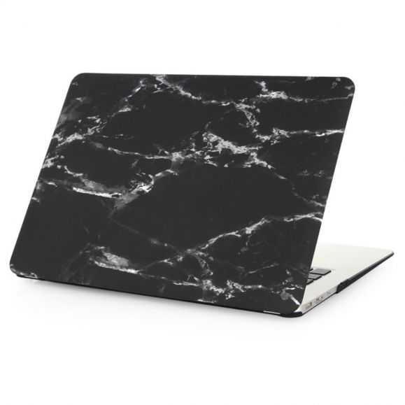 Coque MacBook 12 pouces Marbre - Noir