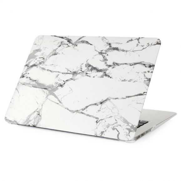 Coque MacBook 12 pouces Marbre - Gris / Blanc