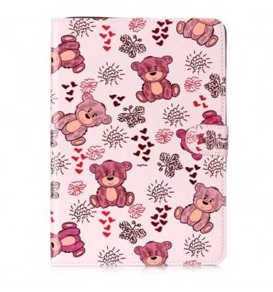 Housse iPad 9.7 2017 / 2018 - Adorable Ours