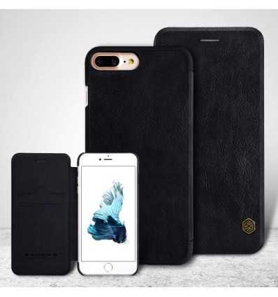 Housse iPhone 8 Plus / 7 Plus NILLKIN Cuir Porte Carte - Noir