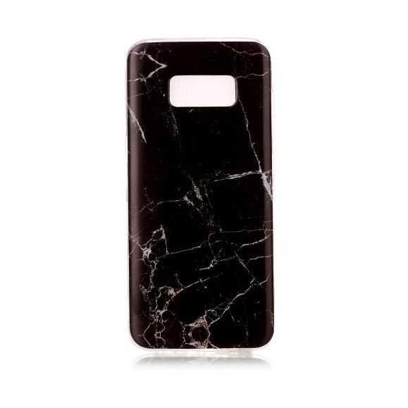 Coque Samsung Galaxy S8 Marbre - Noir