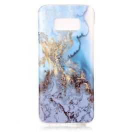 Coque Samsung Galaxy S8 Marbre - Bleu Clair
