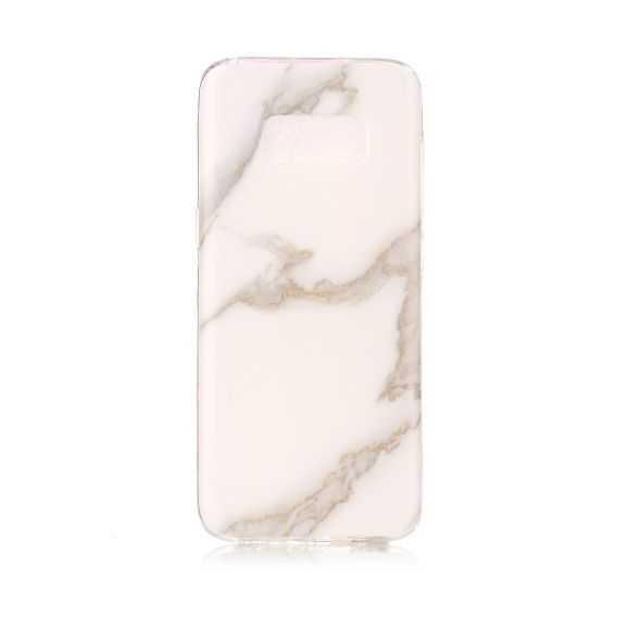 Coque Samsung Galaxy S8 Marbre - Blanc