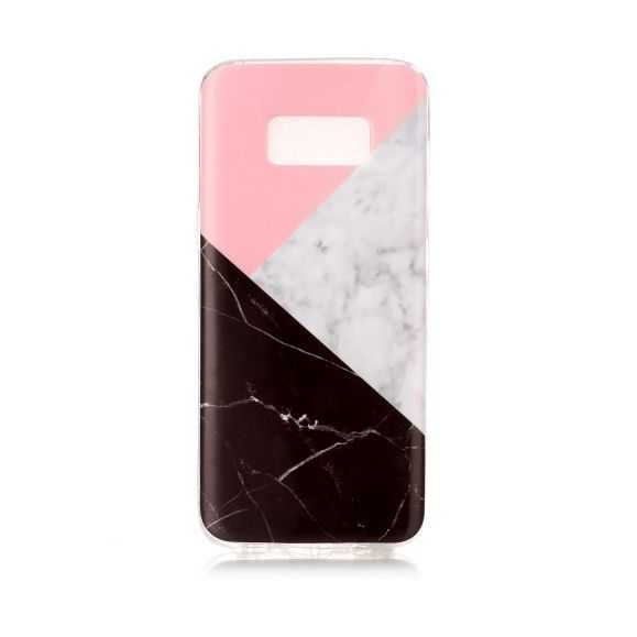 Coque Samsung Galaxy S8 Marbre - Triangles
