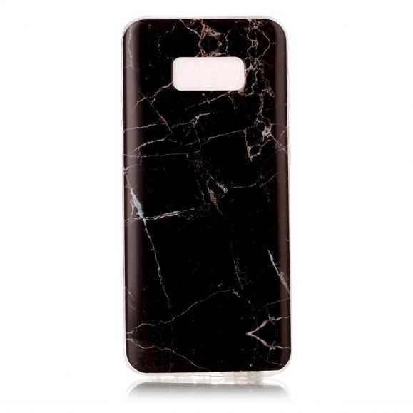 Coque Samsung Galaxy S8 Plus Marbre - Noir