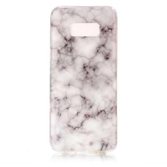 Coque Samsung Galaxy S8 Plus Marbre - Gris / Blanc