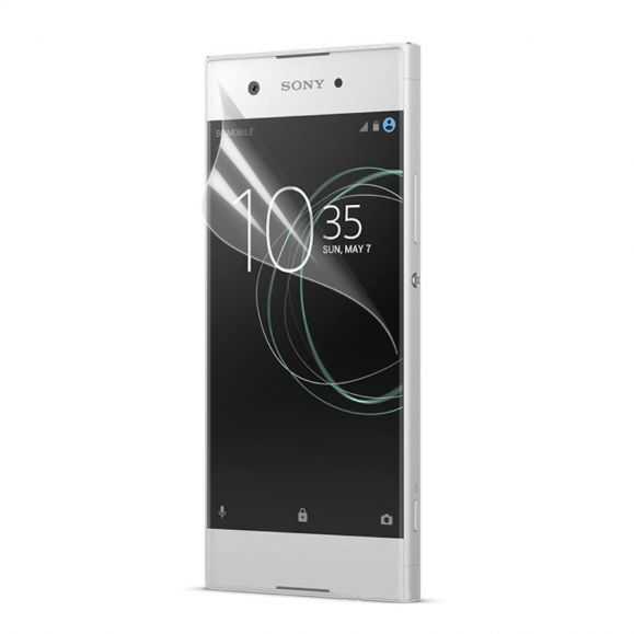 5 films de protection écran pour Sony Xperia XA1