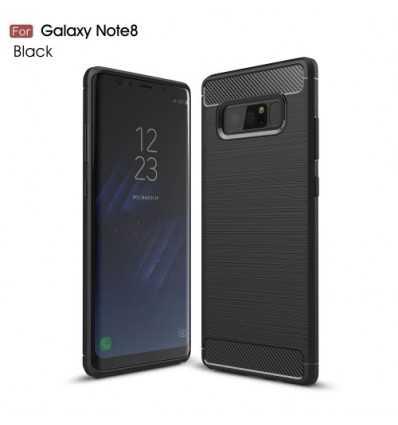 Coque Samsung Galaxy Note 8 Carbone Brossée