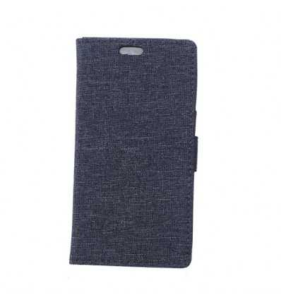 Housse Sony Xperia XZ1 Portefeuille en Tissu