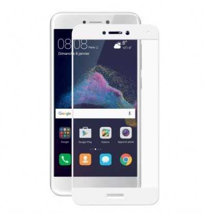 Verre trempé Huawei P8 Lite  2017 Full Size - Blanc