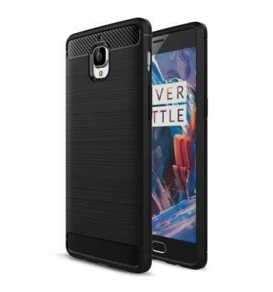 Coque OnePlus 3 / 3T Carbone Brossée