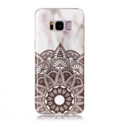 Coque Samsung Galaxy S8 - Marbre et Mandala