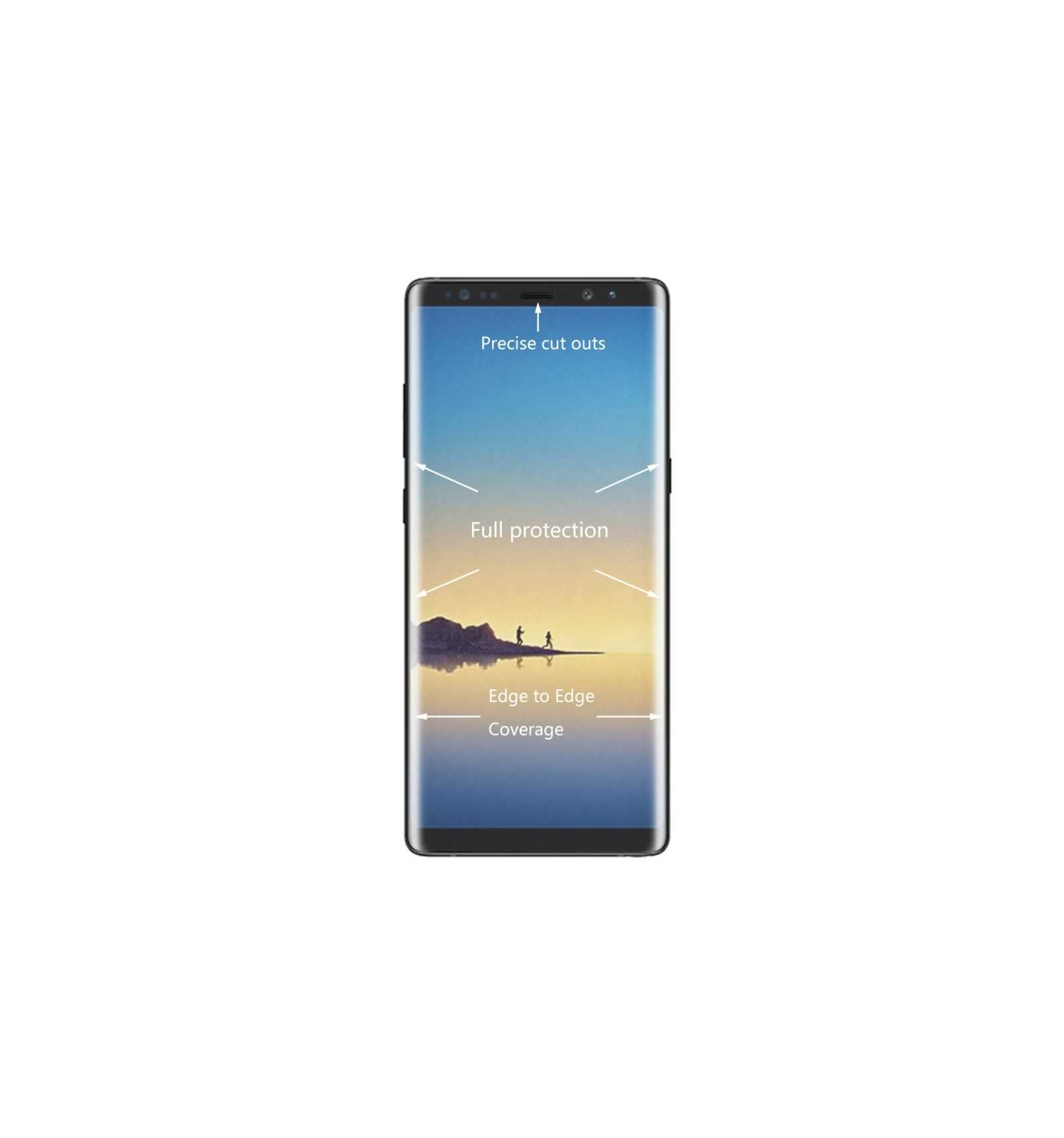 film protection cran verre tremp samsung galaxy note 8 full size