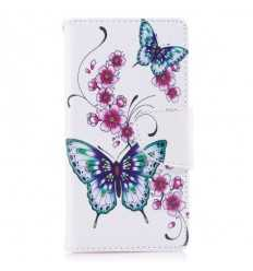 Housse Sony Xperia XZ1 Compact - Butterfly flower