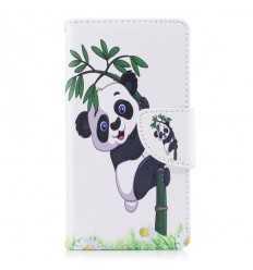 Housse Sony Xperia XZ1 Compact - Panda sur un bambou