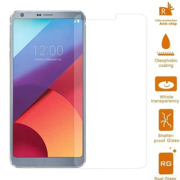 Protection en verre trempé pour LG G6 - Pack de 2