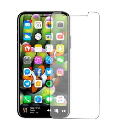 Protection d'écran iPhone X / XS en verre trempé