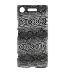 Coque Sony Xperia XZ1 Effet Peau de Serpent
