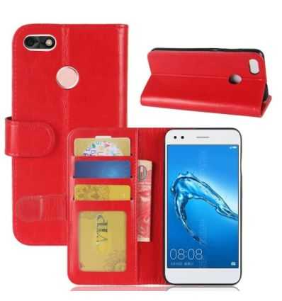 Housse Huawei Y6 Pro 2017 Portefeuille Simili Cuir