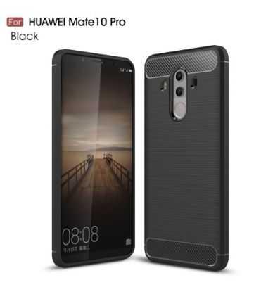 Coque Huawei Mate 10 Pro Carbone Brossée