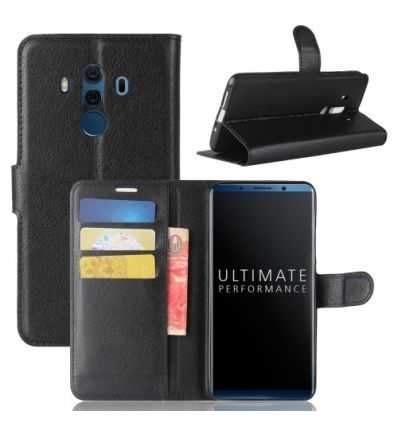 Housse Huawei Mate 10 Pro Portefeuille Style Cuir