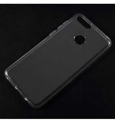 Coque transparente en silicone pour Huawei Honor 7X