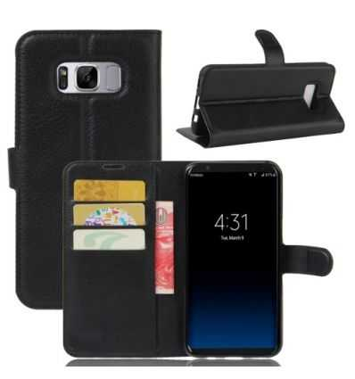 Housse Samsung Galaxy S8 Portefeuille Style Cuir