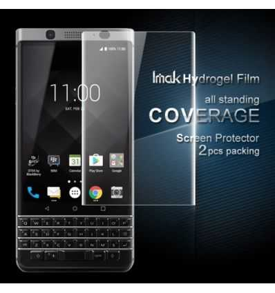 2 Protections d'écran pour BlackBerry KEYone Full size en hydrogel