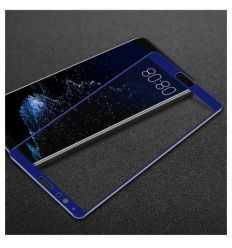 Protection d'écran Verre Trempé Huawei Honor V10 Full Size - Bleu