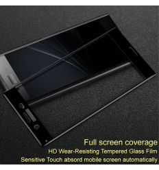Protection d'écran verre trempé Sony Xperia XZ1 Full Size - Noir